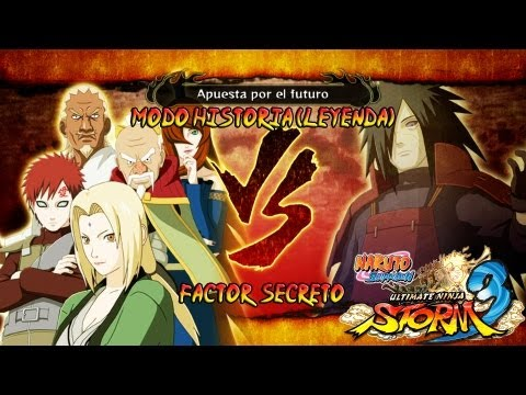 Naruto Shippuden: Ultimate Ninja Storm 3 Walkthrough + Full Burst - Parte 30 |Capitulo Final Los Kages vs Madara Boss Jefe Gameplay Español/Japanese Xbox360/PS3