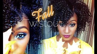getlinkyoutube.com-The Perfect Fall Twist Out on short\medium length 4b Natural Hair |Entwine Couture