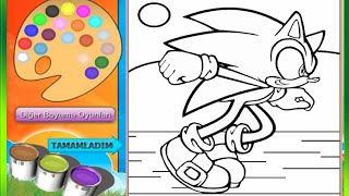 getlinkyoutube.com-Sonic The Hedgehog Coloring Pages For Kids - Sonic The Hedgehog Coloring Pages