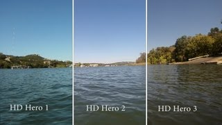 gopro hd hero 3 black edition side by side to hd hero 1 and 2