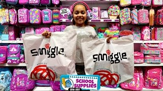 Smiggle School Supplies - Shopping For Clothes & Birthday Presents - Surprise Toys For Kids
