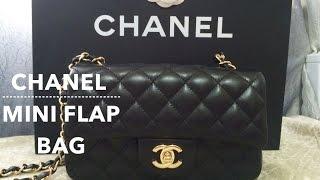 getlinkyoutube.com-UNBOXING │ Chanel Mini Flap Bag 2015 Lambskin GHW