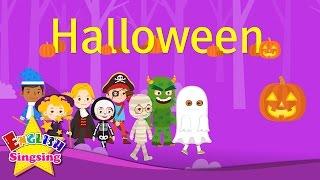 getlinkyoutube.com-Kids vocabulary - Halloween - Halloween monster costumes - English educational video for kids