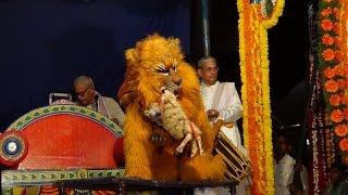 getlinkyoutube.com-Yakshagana -- Simha Nrithya by Anabha Polali