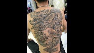 getlinkyoutube.com-Dragon Tattoo Hoàng Anh Cần Thơ