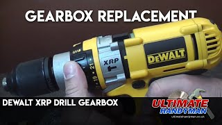 getlinkyoutube.com-Dewalt XRP drill gearbox