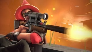 getlinkyoutube.com-The EXPLOSIVE Sniper Rifle! TF2 Custom Weapons GameMode!