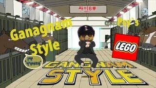 getlinkyoutube.com-Lego Gangnam Style: A Lego stopmotion of PSY`s 'Gangnam Style'