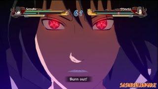 getlinkyoutube.com-Naruto Shippuden Ultimate Ninja Storm Revolution - EMS Sasuke Vs Edo Itachi