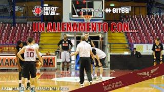 getlinkyoutube.com-Basket Coach: riscaldamento pre-allenamento Reyer Venezia con preparatore fisico