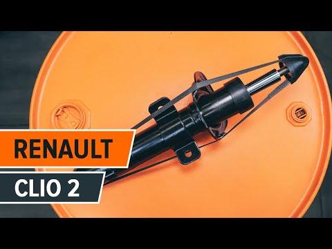 Navod: Jak vymenit predni tlumic na RENAULT CLIO 2