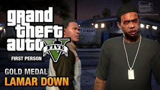 getlinkyoutube.com-GTA 5 - Mission #70 - Lamar Down [First Person Gold Medal Guide - PS4]