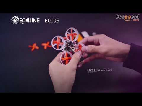 Eachine E010S 65mm Micro FPV Racing Quadcopter