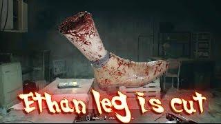 getlinkyoutube.com-Resident Evil 7 - Ethan leg is cut - fast and furious Jack Baker