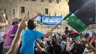 getlinkyoutube.com-Ooh Benghazi اوه بنغازي من ميدان الشهداء
