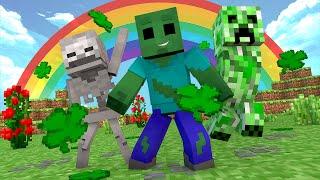 getlinkyoutube.com-Minecraft - UM DIA DE SORTE !! - Escola Monstro #71 | Monster School