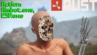 getlinkyoutube.com-Fun Raid Ruined by Hacker   Rust