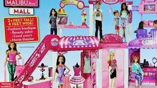 getlinkyoutube.com-Barbie Mall Barbie Alışveriş Merkezi   Barbie Türkçe izle   Evcilik TV Barbie Oyunları