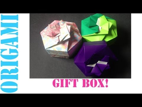 Origami Daily - 458: Hexagon Box Lid Ver. 1 (Modular 2 Unit) - TCGames [HD]