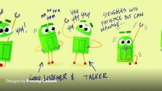 """getlinkyoutube.com-""""Ask the StoryBots"""" Behind-the-Scenes: 2D Animation"""