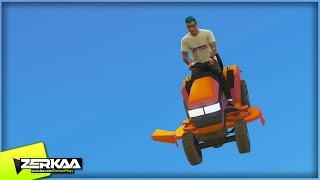 getlinkyoutube.com-FALLING LAWNMOWERS | GTA 5 Funny Moments (E760)