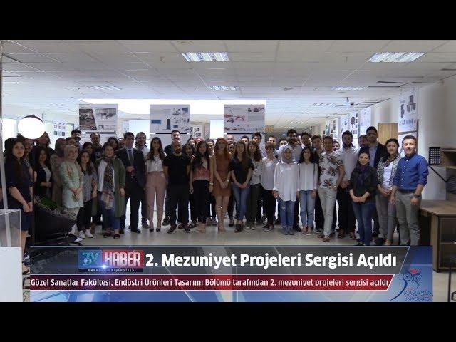Endüstri Ürünleri Tasarımı Bölümü 2. Mezuniyet Projeleri Sergisi