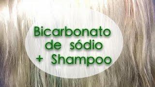getlinkyoutube.com-BICARBONATO DE SÓDIO COM SHAMPOO (como retirar pigmento ou verde do verão do cabelo/desbotar)