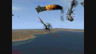 getlinkyoutube.com-IL-2 Sturmovik 1946: Epic Fails and Close Calls 6