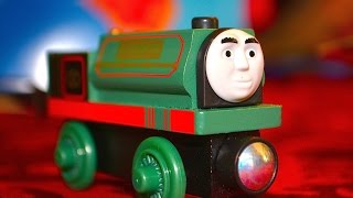 getlinkyoutube.com-2015 Thomas Wooden Railway SAMSON Toy Train Review By Mattel Fisher Price