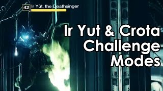 Destiny Rise of Iron: Ir Yut, the Deathsinger & Crota Challenge Mode Guides