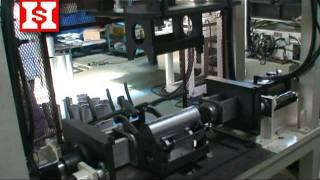 getlinkyoutube.com-Muffler Shell Body Rolling & Forming Machine (Japanese Type) 二重卷式殼體成形機(日規)