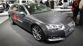 getlinkyoutube.com-2016 - Audi A4 Avant Sport - Exterior and Interior - Zürich Car Show 2015