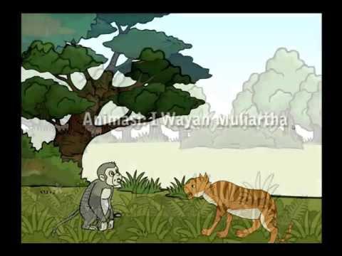 Animasi Kartun I kambing teken I Macan