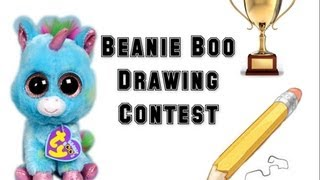 getlinkyoutube.com-Beanie Boo Drawing Contest Results