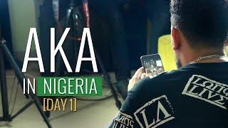 AKA Visits Nigeria [PART 1]: Freeme TV