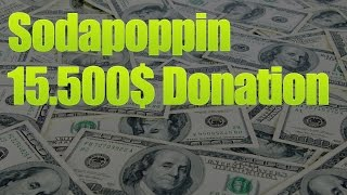 getlinkyoutube.com-Sodapoppin gets a 15k donation from Infamous3x