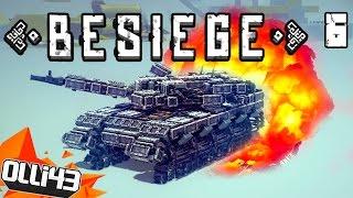 getlinkyoutube.com-AWESOME BESIEGE CREATIONS!! THE ULTIMATE TANK! (Besiege Gameplay Part 6)