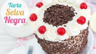 getlinkyoutube.com-Tarta Selva Negra (Black Forest Cake) | Quiero Cupcakes!