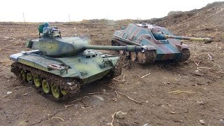 getlinkyoutube.com-RC ADVENTURES - Ten Minutes of Tanks - 1:16 Scale Airsoft & Infrared Hobby Quality RC Tanks