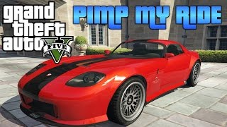 getlinkyoutube.com-GTA V - Pimp My Ride #155 | Benny's Banshee 900R | Car Customization NEW UPDATE