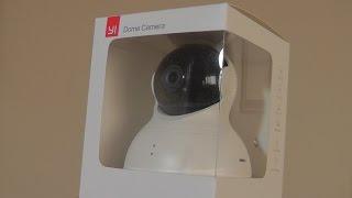 getlinkyoutube.com-REVIEW: YI Dome 360 Wi-Fi Home Security Camera!