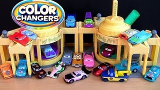 getlinkyoutube.com-26 Color Changers Cars Ramone Playset CARS 2 Ramone House of Body Art Disney Pixar by Blucollection