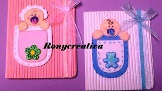 getlinkyoutube.com-Cómo hacer una linda invitación para BABY SHOWER o BAUTIZO / Ronycreativa