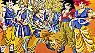 getlinkyoutube.com-DBZ:Goku - All Forms 2016彼の悟空