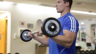 Rosca Direta com Barra Reta - Exercício para Bíceps - Baixe o App!