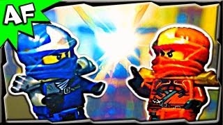 Lego Ninjago KAI vs JAY - EPIC SPINJITZU BATTLE