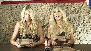 getlinkyoutube.com-Monster Energy Girls Try Military Food