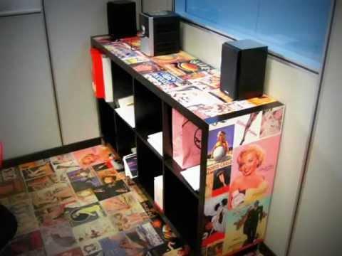 Come rivestire un cassetto o l 39 interno di un mobile fai da te mania - Rivestire un mobile con carta adesiva ...