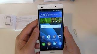 getlinkyoutube.com-Huawei P8 Lite einrichten und erster Eindruck