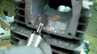 getlinkyoutube.com-Porting tips on how to use carbide bur, burrs, or cutters, 2 stroke porting.MOV